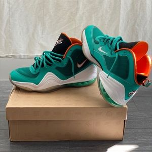 """Air Penny 5 """"Miami Dolphins"""""""